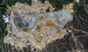 106 Bingham Copper Mine UT mosaic